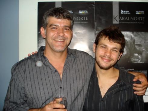 Carlo Spatuzza (Dir.Arte) y Maricio Rial (Asis.Direc.)